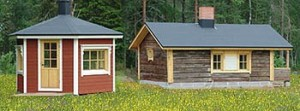 Pihapiirin sauna ja grillikota